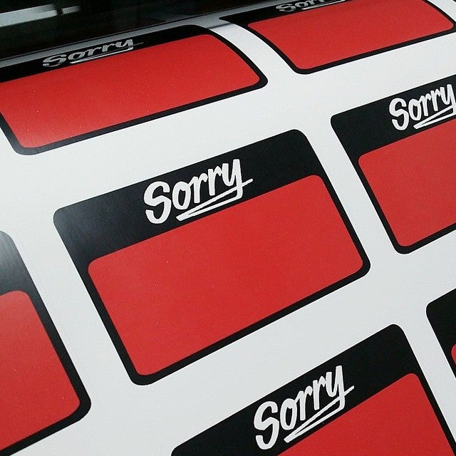 Image of Sorry Blanks