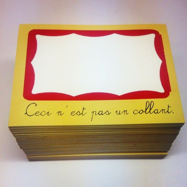 Image of Magritte Blanks