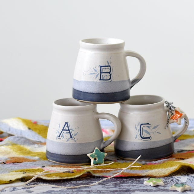 Image of Alphabet Monogram Mug