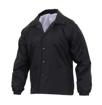 Image of Lined Coaches Police Jacket