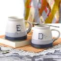 Alphabet Monogram Mug