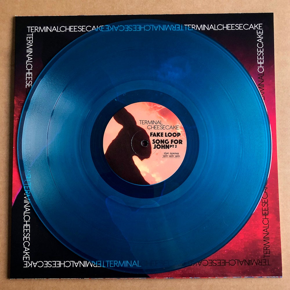 ELECTRIC MOON / TERMINAL CHEESECAKE 'In Search Of Highs Vol 3' Blue Vinyl LP