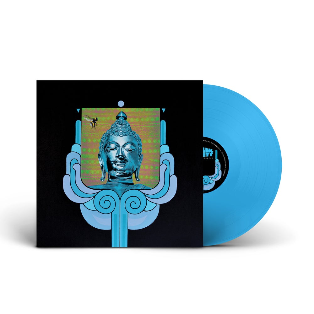 EARTHLING SOCIETY 'Ascent To Godhead' Blue Vinyl LP