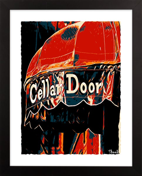 "Image of Cellar Door Giclée Art Print - 11"" x 14"""