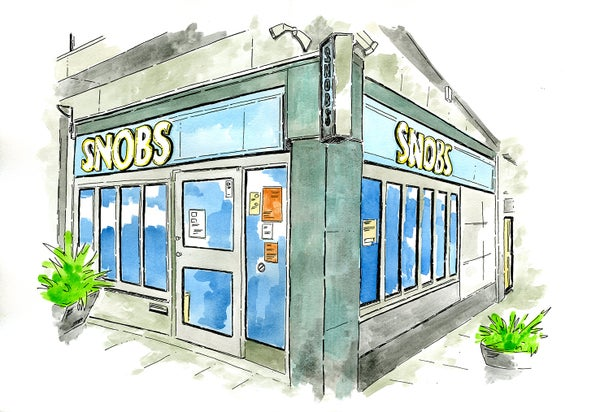 Image of Old Snobs nightclub Birmingham 2