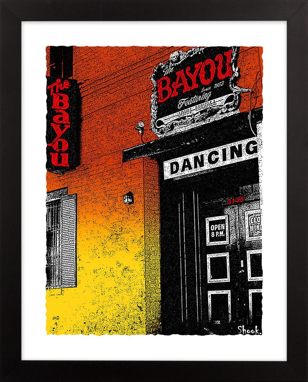 "The Bayou Giclée Art Print - 11"" x 14"""