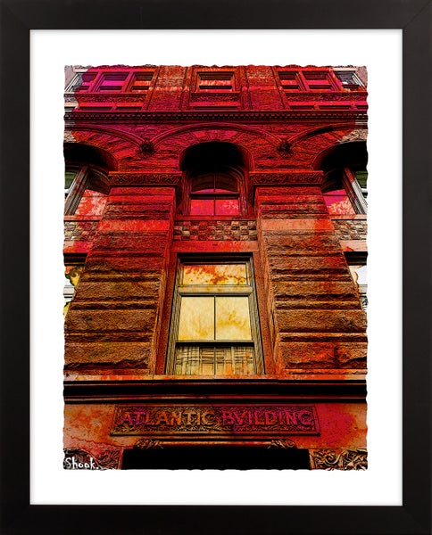 "Image of Atlantic Building Giclée Art Print - 11"" x 14"""