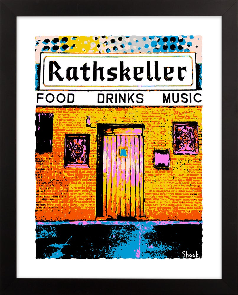 "Image of The Rathskeller Boston Giclée Art Print - 11"" x 14"""