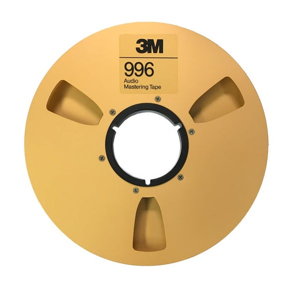 "Image of BRAND NEW 1/4"" 3M 996 Audio Mastering Tape Precision Reel"