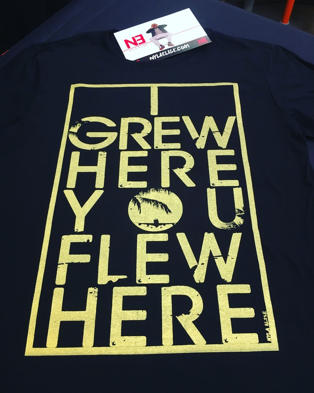 "Image of ""GREW HERE"" (Unisex)"