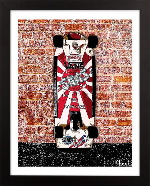 "Image of Sims ""Rising Sun"" Skateboard  Giclée Art Print - 8"" x 10"""