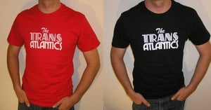Image of Mens Logo Tee - Red or Black