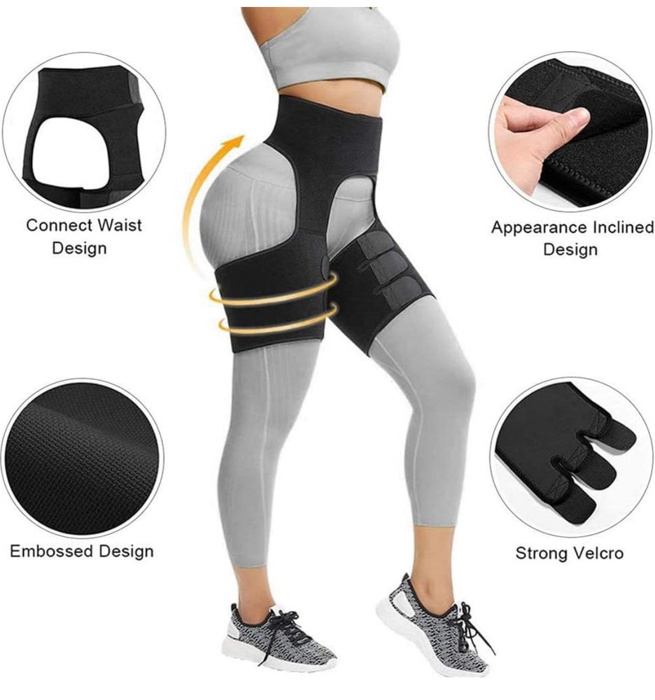 Image of 3-in-1 ( Fitness belt, Thigh Trimmer & Butt Lifter)