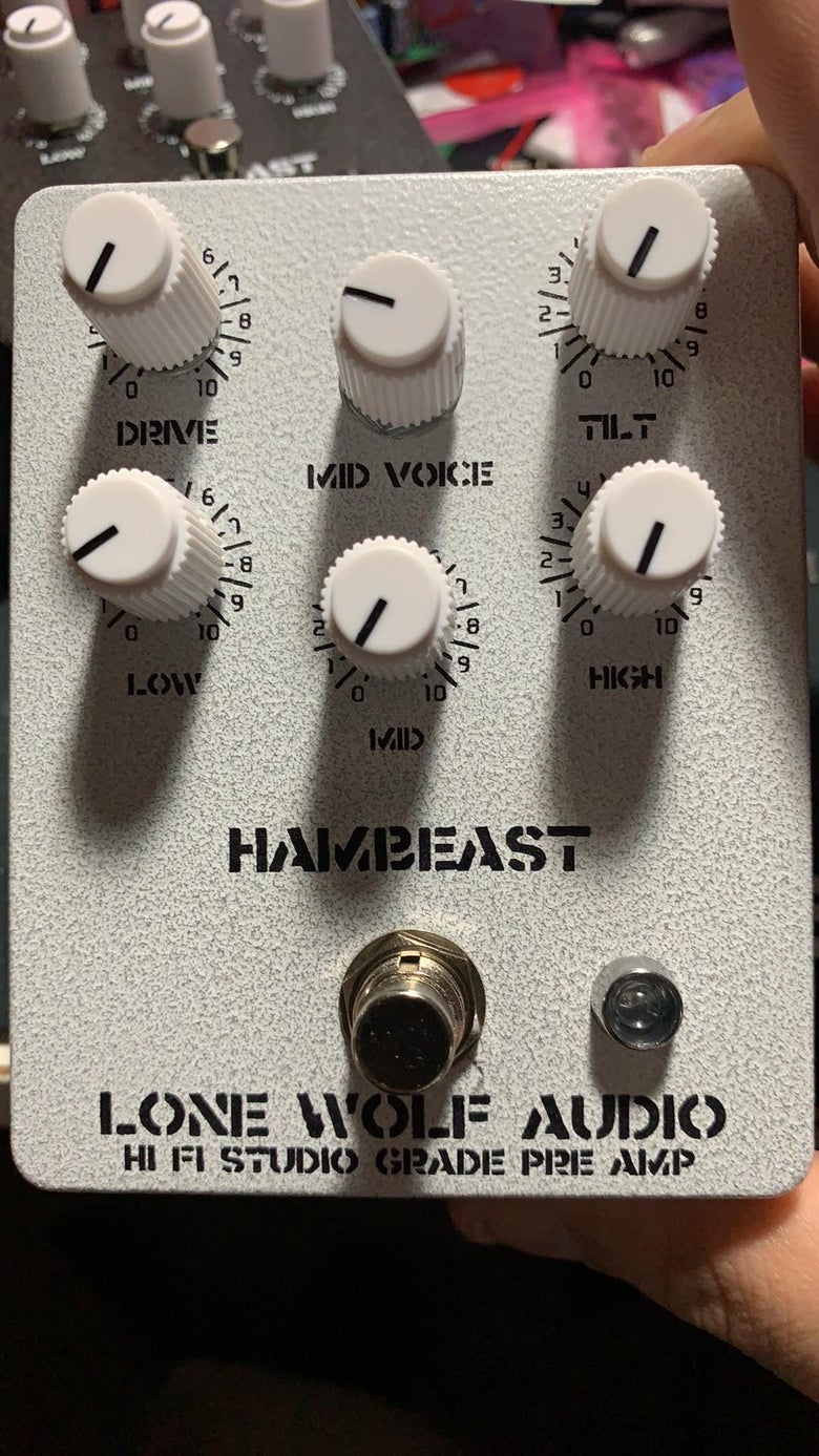 Image of Hambeast - hi fi studio pre amp
