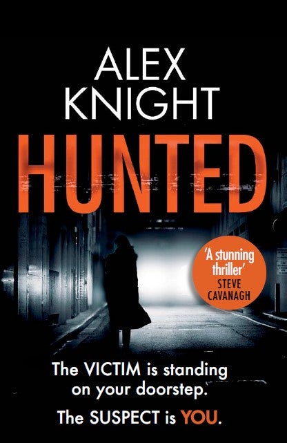 Image of Hunted - UK mass market paperback signed by the author