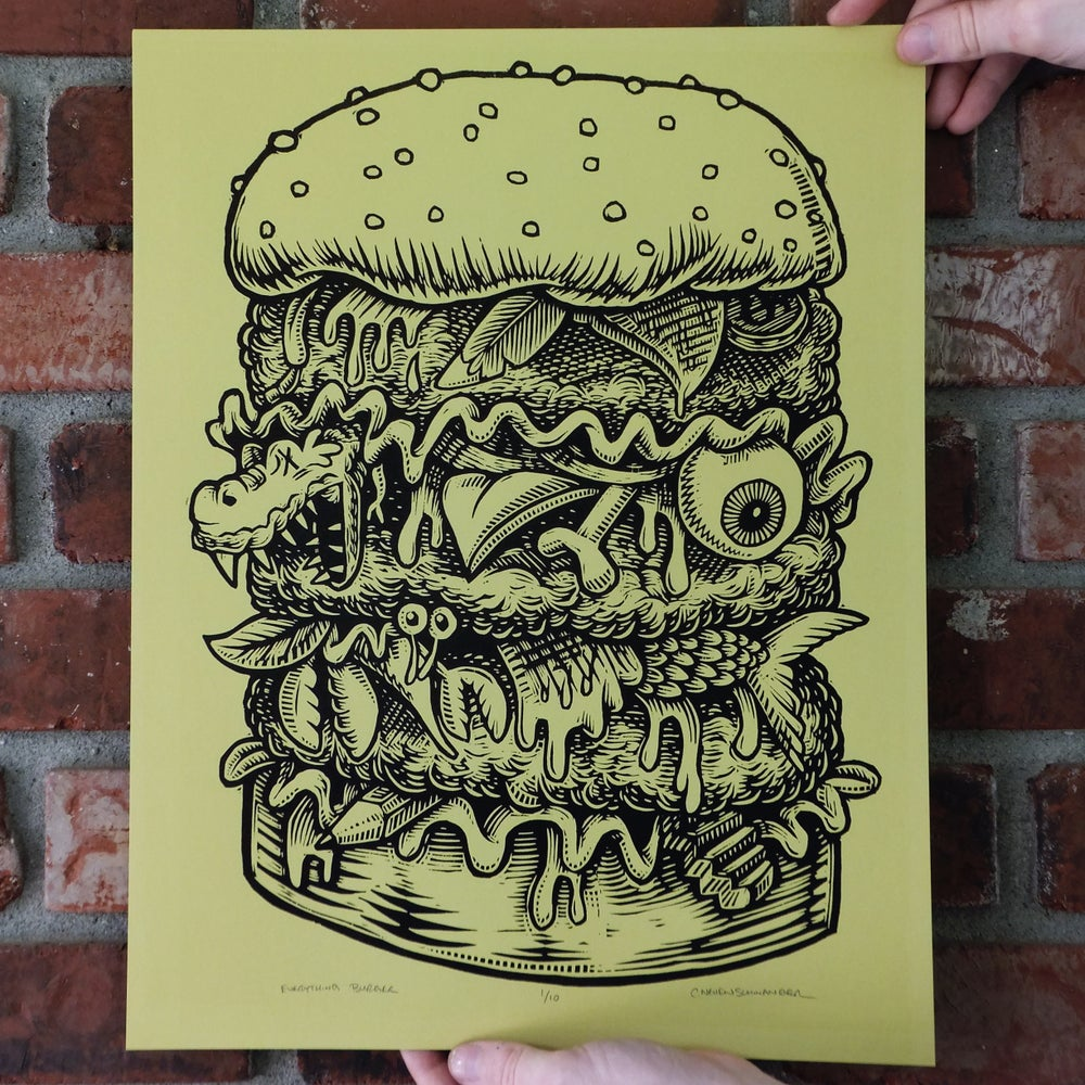 Everything Burger Print