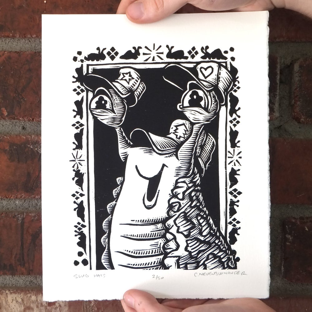 Slug Hats Print
