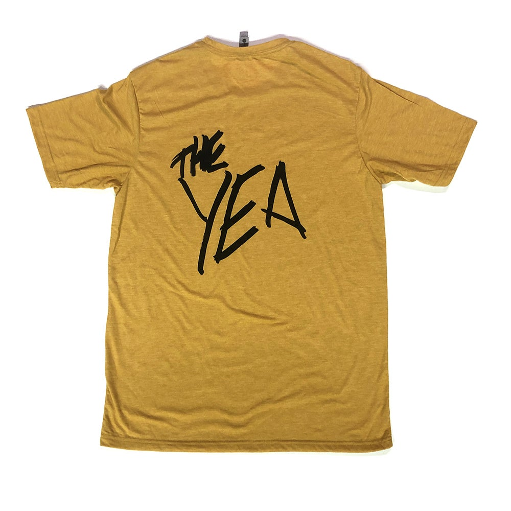 Image of Yea Yella tee (Heather)