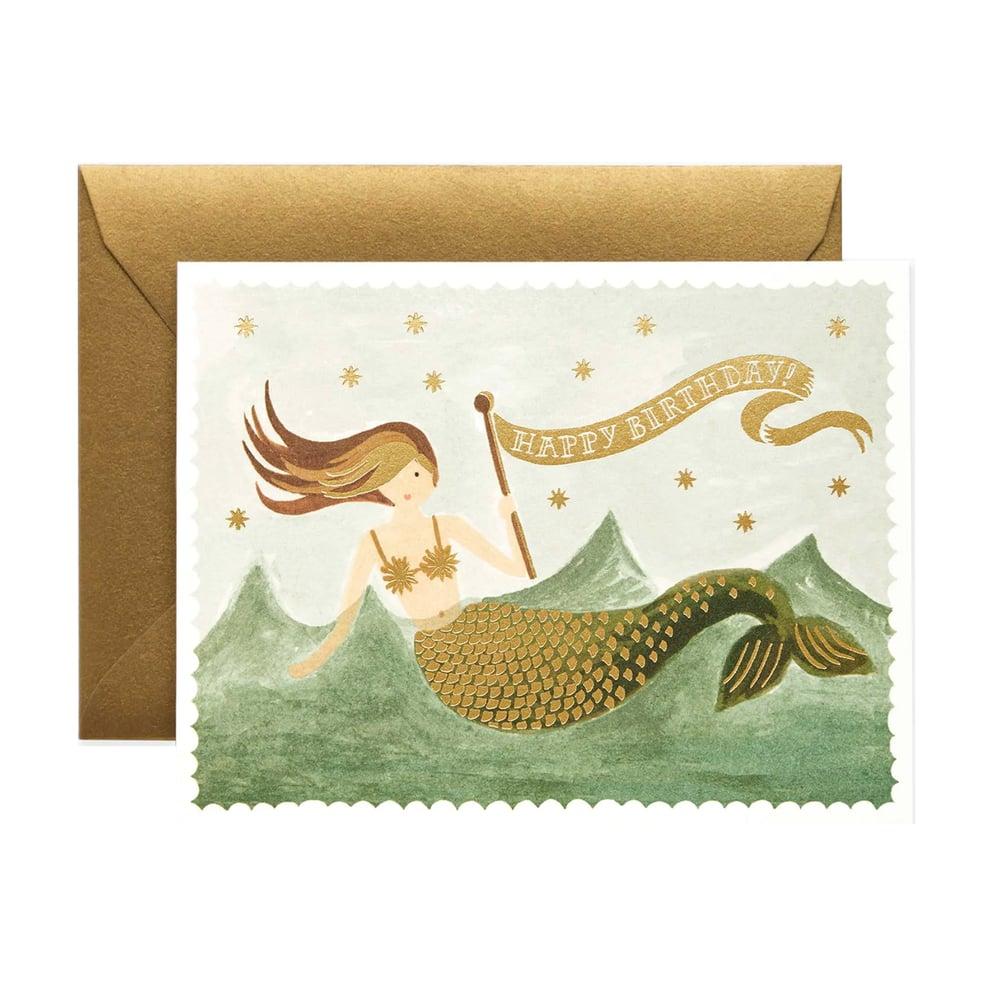 Image of Vintage Mermaid Birthday