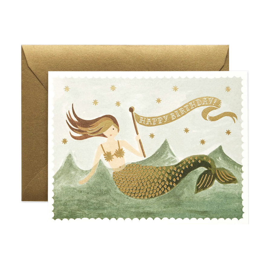 Image of Vintage Mermaid Birthday
