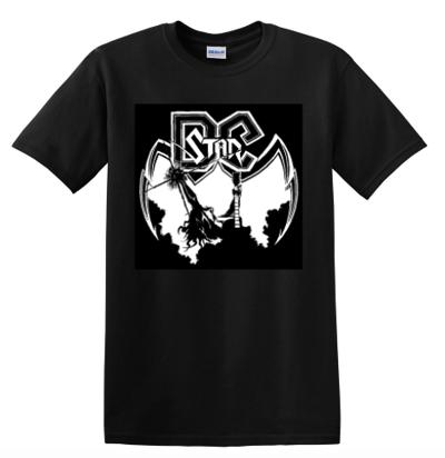 Image of Black DC Star Concert T-shirt