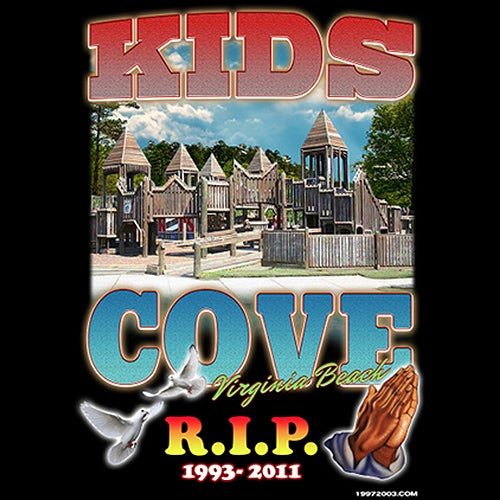 R.I.P. KIDS COVE - T-SHIRT