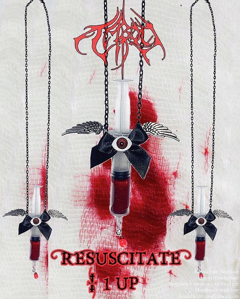 Image of RESUSCITATE NECKLACE