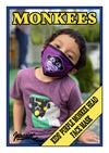 Kids' Monkee Head Face Mask - Purple
