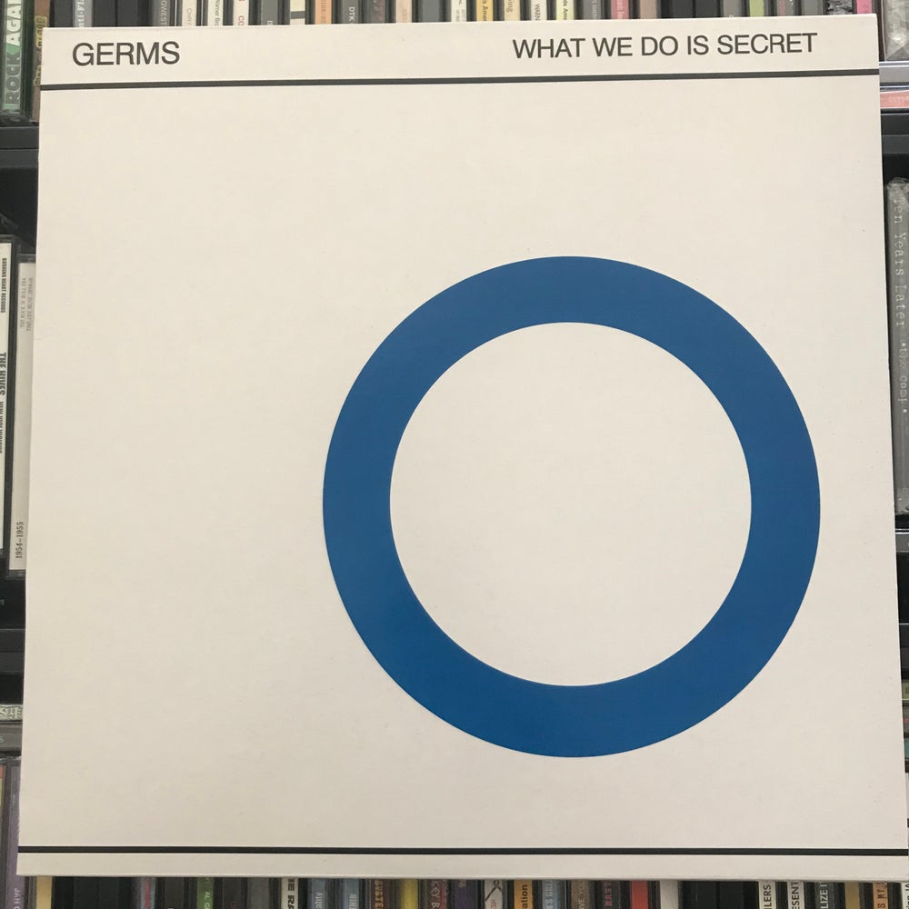 Image of The Germs - What We Do Is Secret Vinyl LP