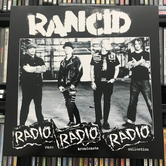 Image of Rancid - Radio Radio Radio Rare Broadcast Collection Vinyl LP