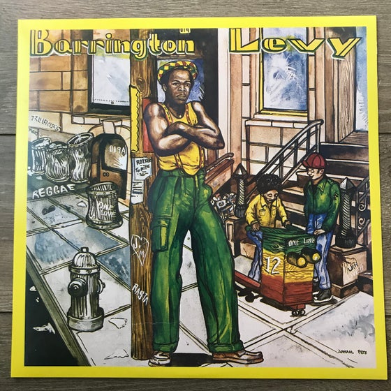Image of Barrington Levy - Poorman Style Vinyl LP *