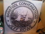 "Image of Jeff Rowe ""Barstool Conversations"" LP (Record Release SCREEN PRINTED)"