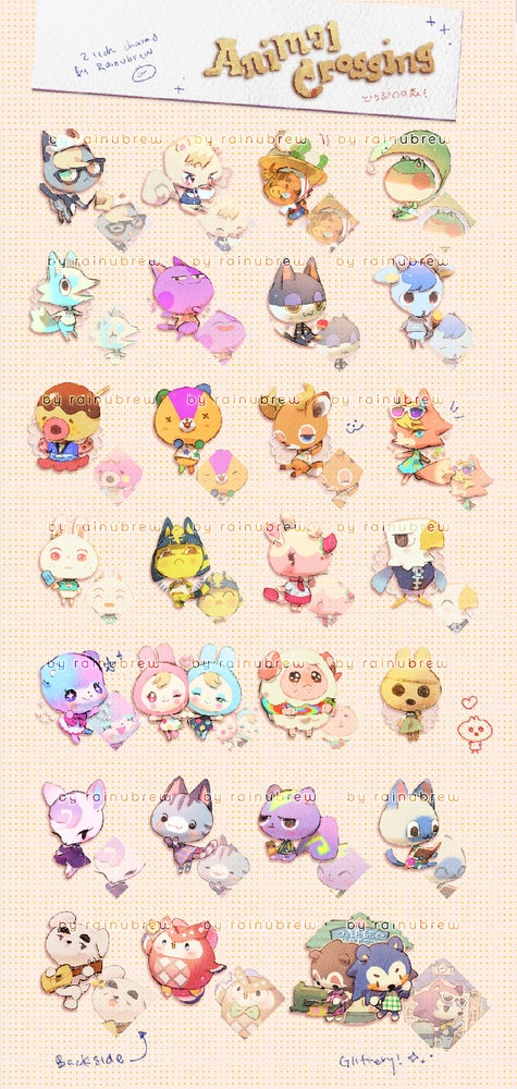 Image of Animal Crossing New Horizons | 2 inch charms [PRE ORDER]