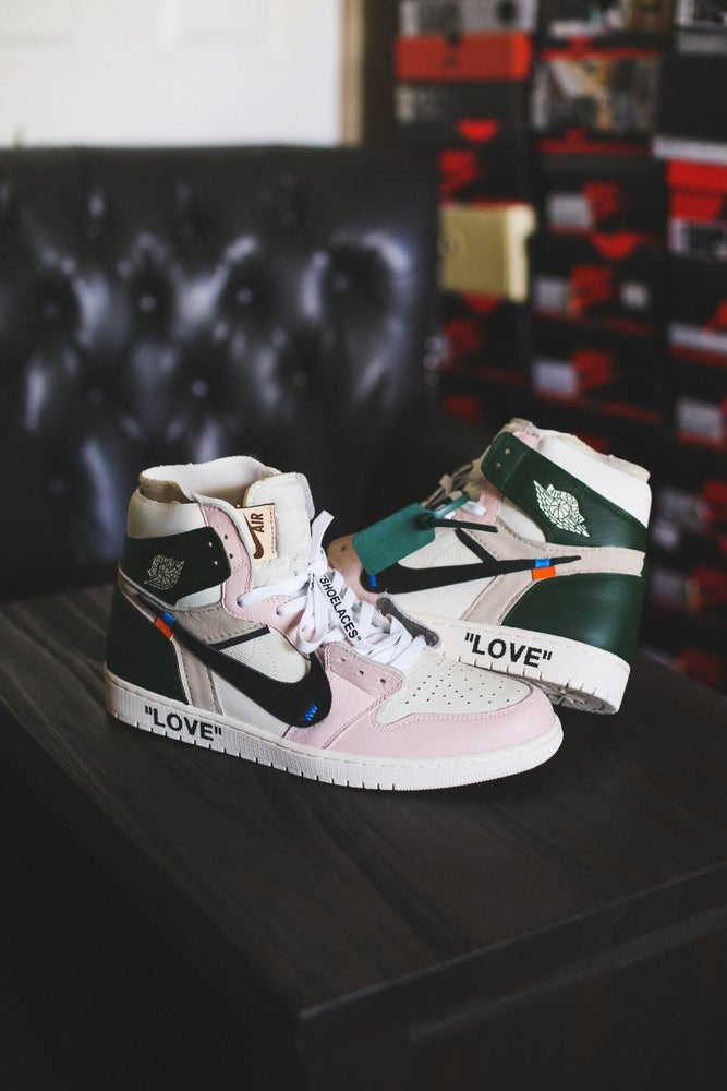 "Image of Jordan retro 1 ""LOVE"""