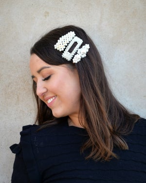 Image of Pearl Hair Clips (Free Shipping!) (Buy more and save!)