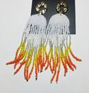 Image 1 of   Creamsicle Drip Earrings