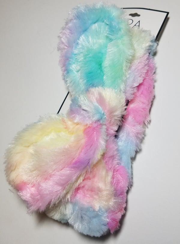 Image of Unicorn Poop Plush Spa Headband