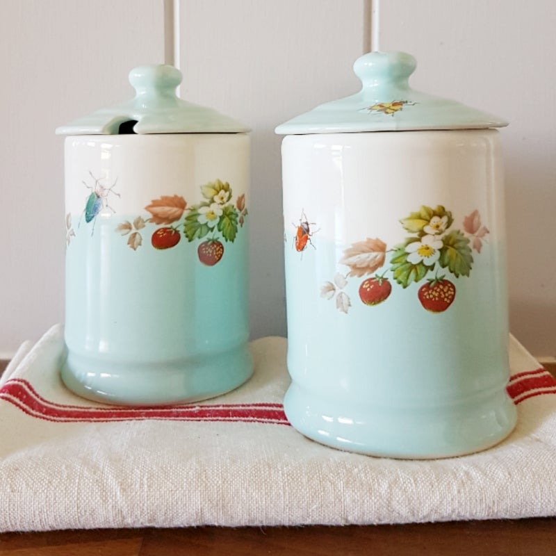 Image of Garden Party Jam Pot