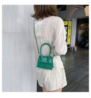 Image of Mini Crocodile Cross Body Bag