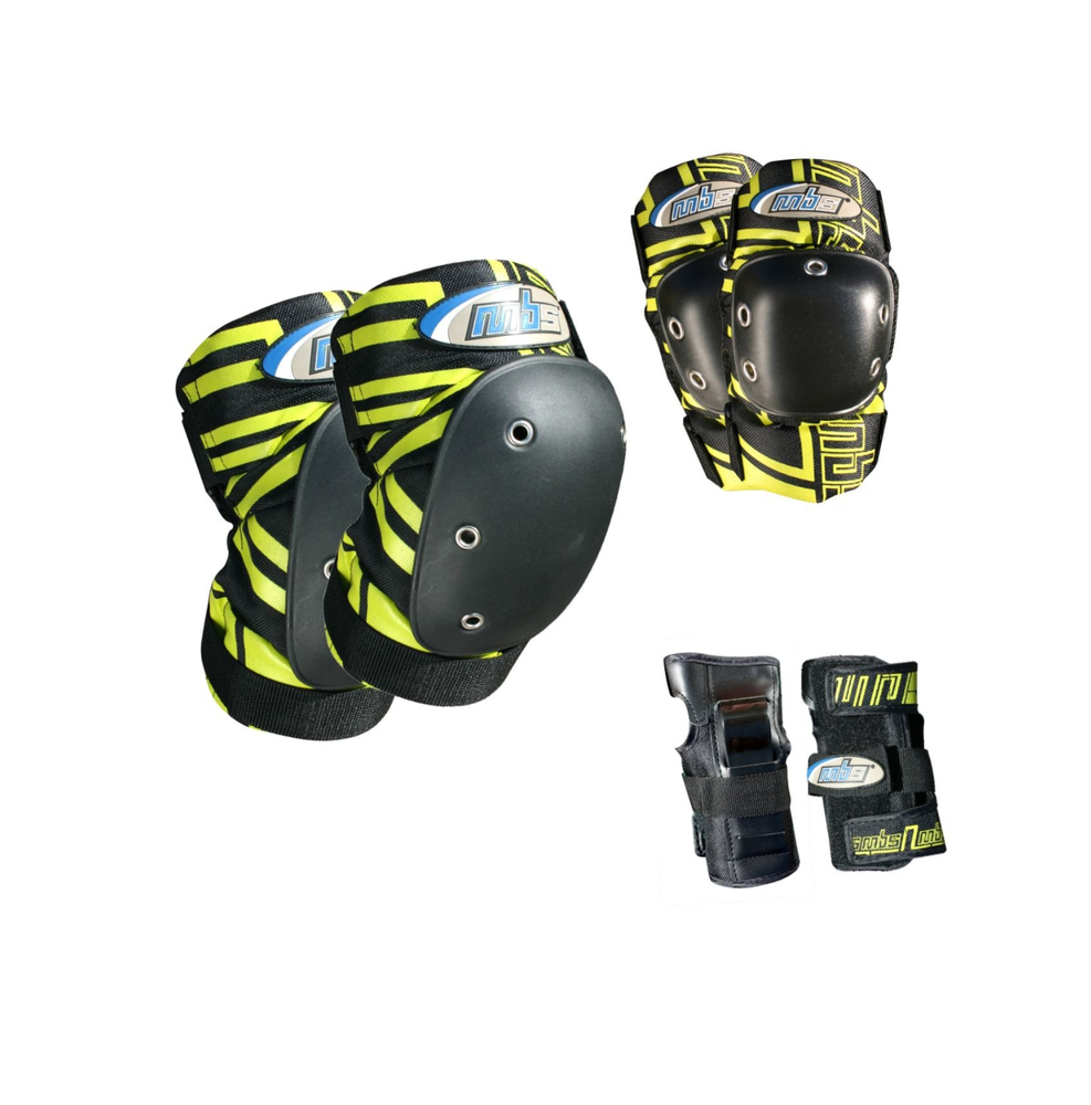 Image of MBS Pro Tri-Pack Pads / Yellow