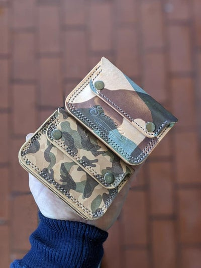 Image of SHORT WALLET NR.3 CAMO