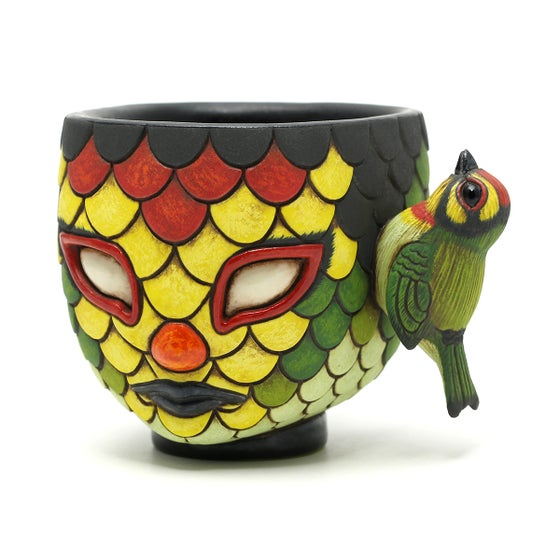 Image of Blend In Coppersmith Barbet cup