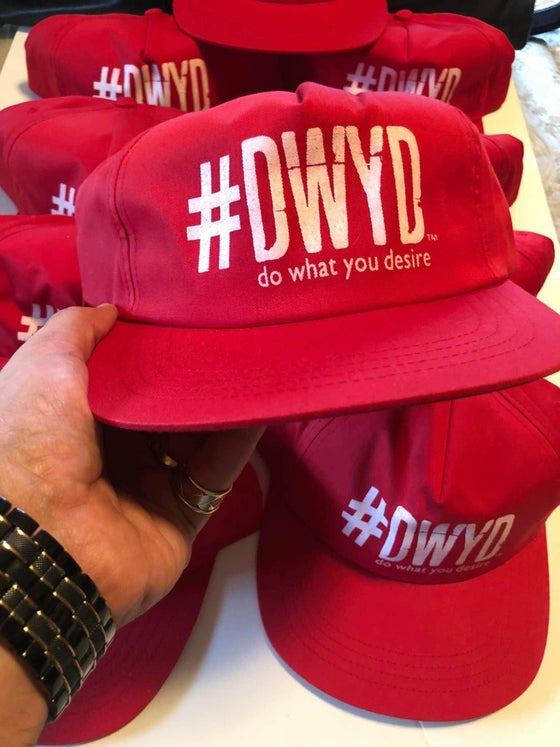 Image of Red & White #DWYD Hat