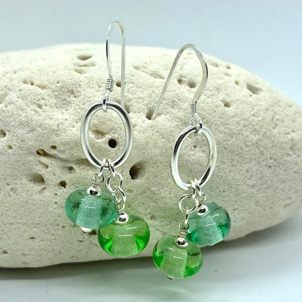 Image of Spring Rain Double Earrings