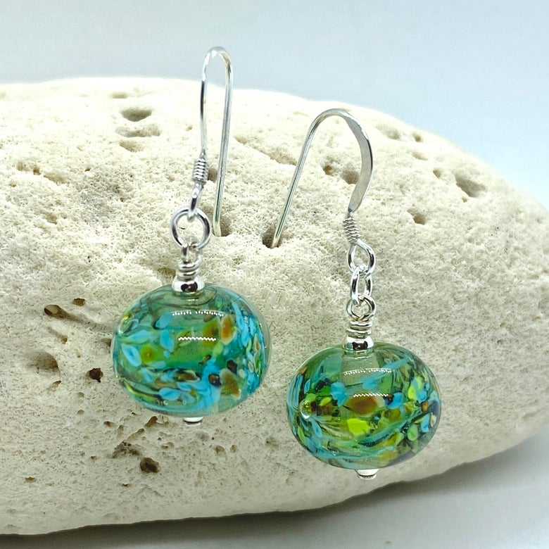 Image of Spring Rain Bobble Earrings