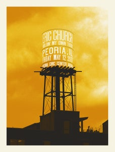 Image of Eric Church - Peoria 2017 poster