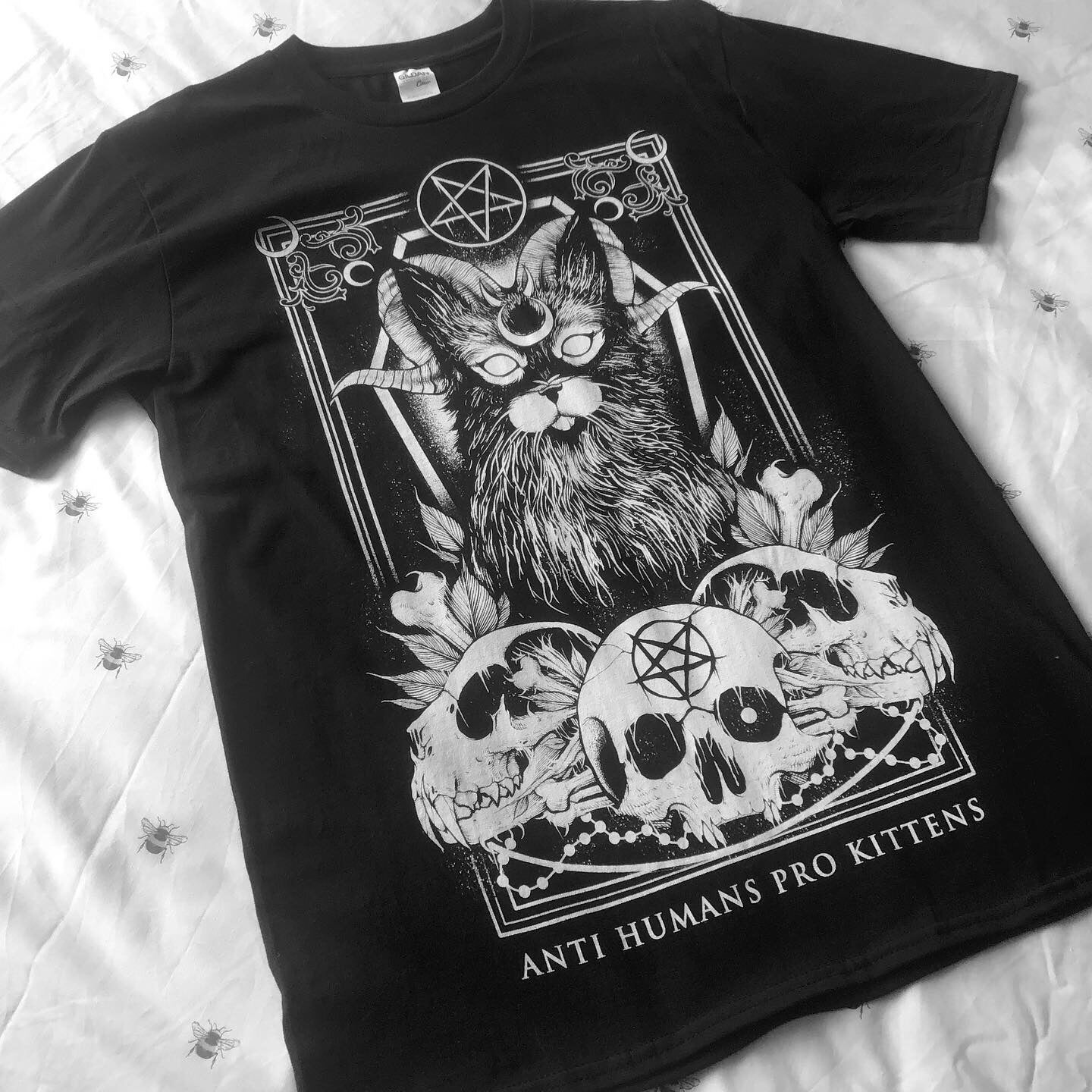 Image of 'Anti Humans Pro Kittens II' T-Shirt