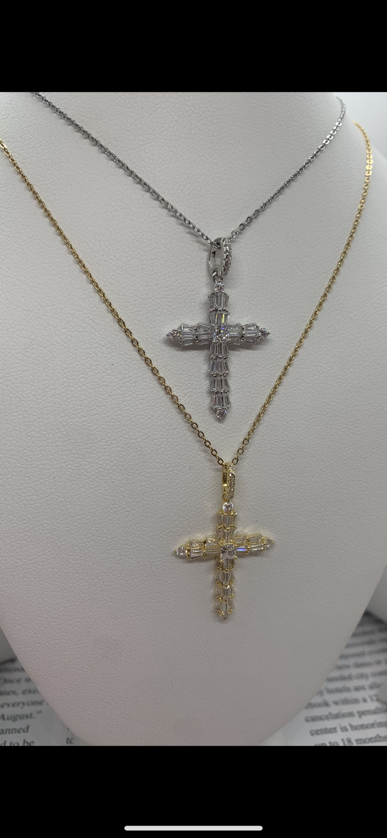 Image of Savior Baguettes necklace