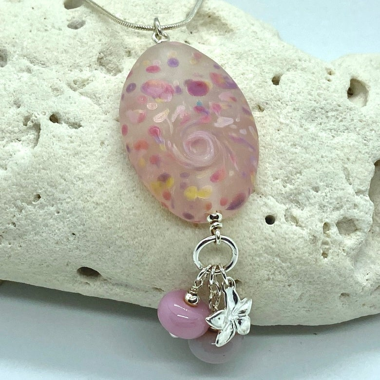 Image of Summer Collection - Peony Charm Dangle
