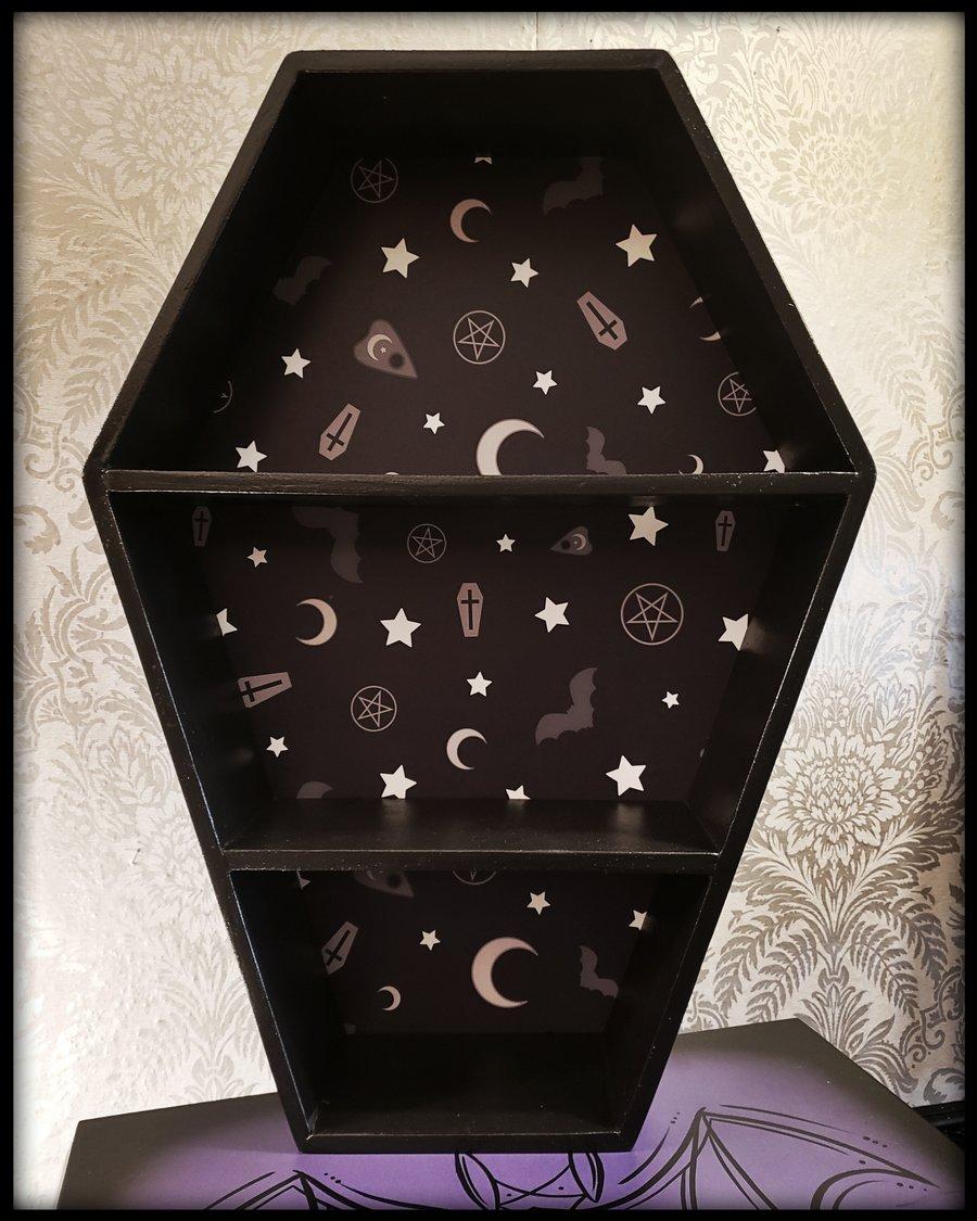 "Image of 25"" Luna Coffin Shelf*"